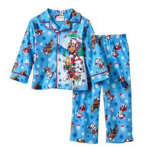 Holiday Paw Control Pajama Set Toddler Boy